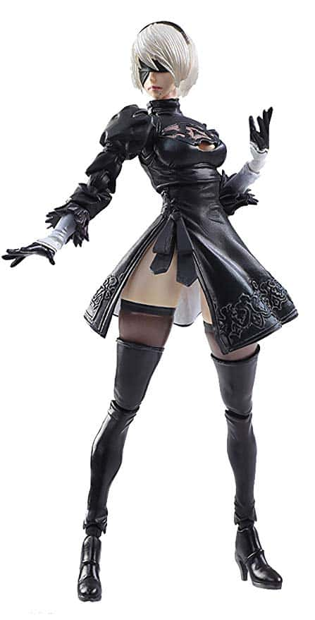 2B from Nier art Top Ten Video Game Robots
