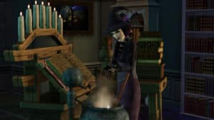 The Sims Witch Top Ten Ways to Kill Your Sim #6