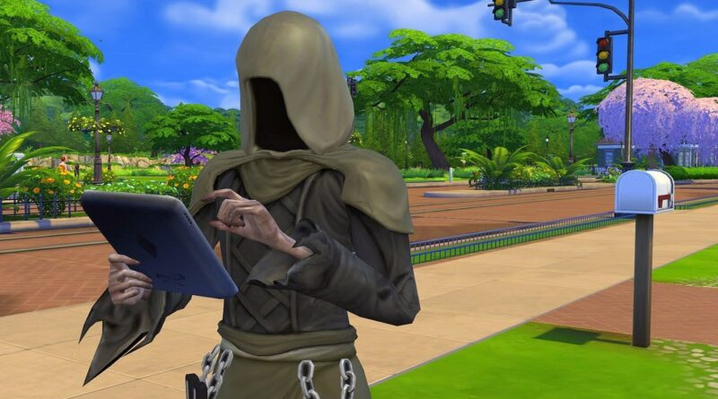 The Sims Grim Reaper