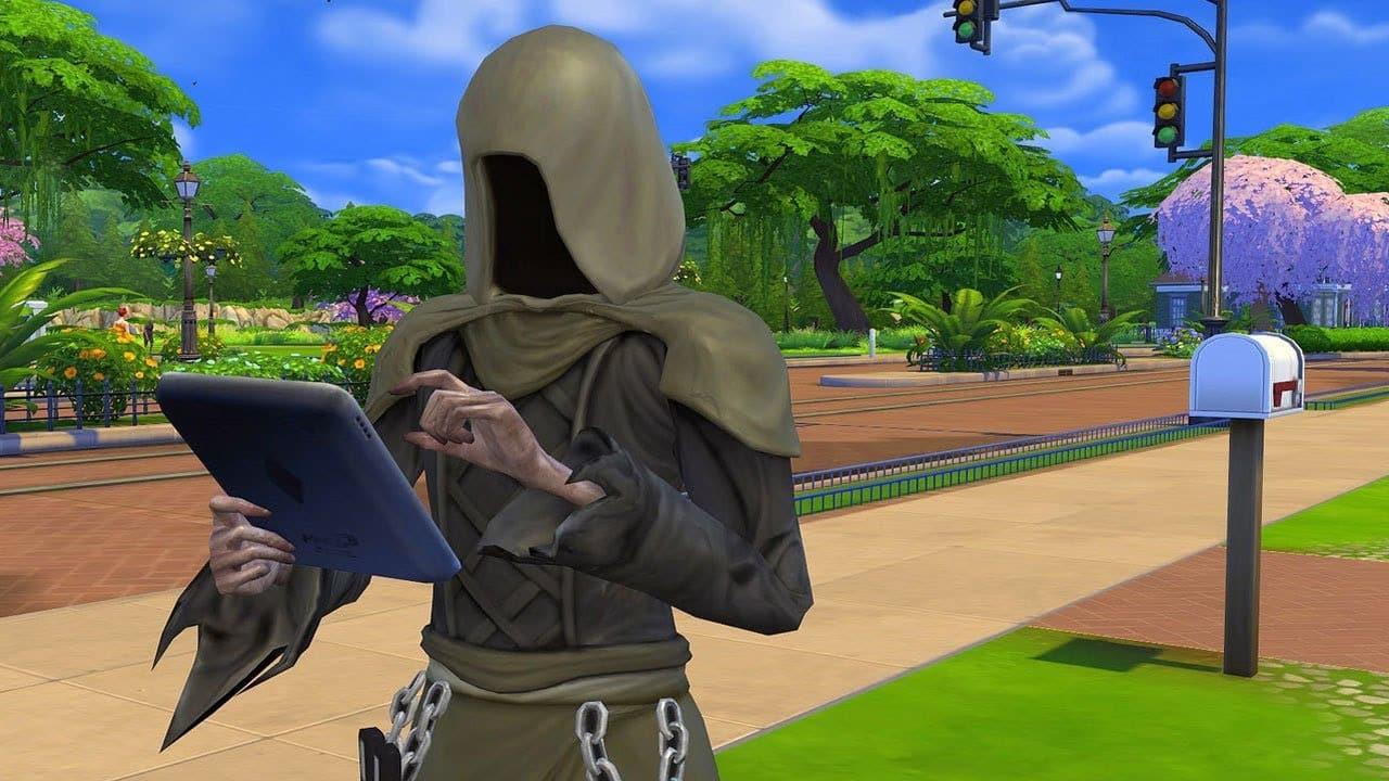 The Sims Grim Reaper