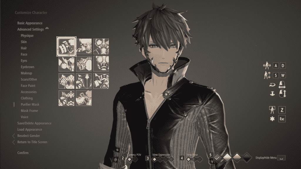 invisible mask 1 code vein mod