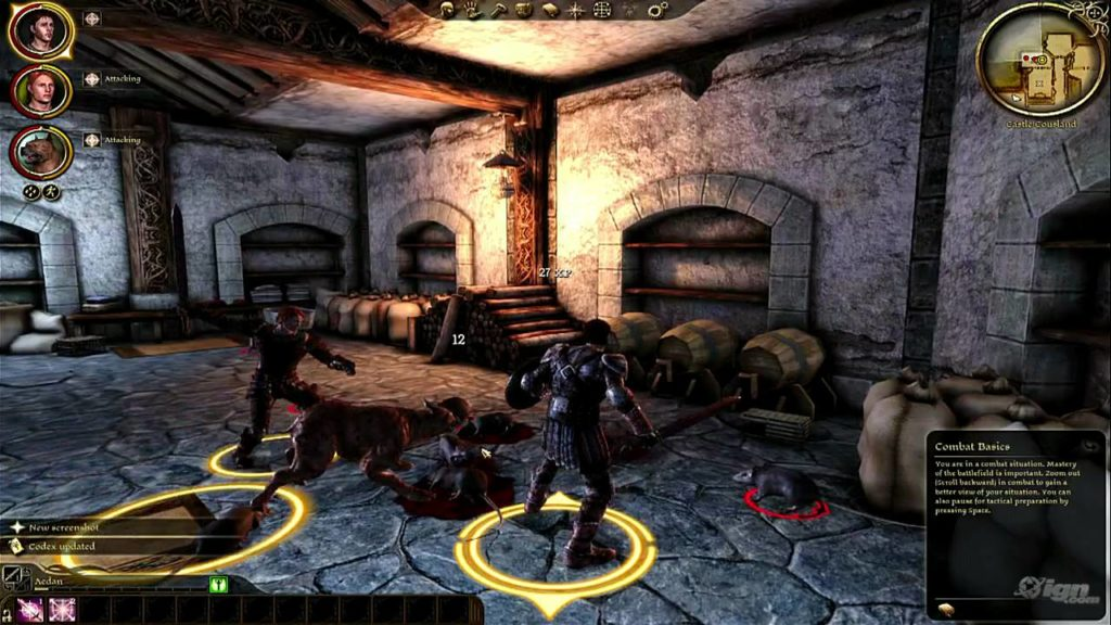 dragon age origins gameplay