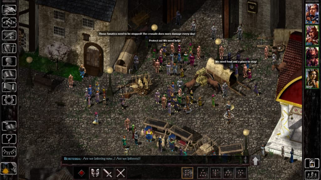 baldur's gate gameplay