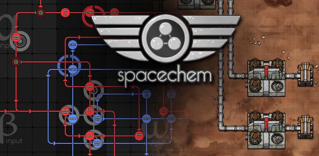 games like factorio spacechem