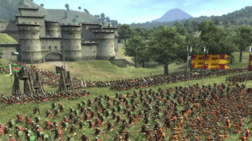 games like mount and blade total war medieval II