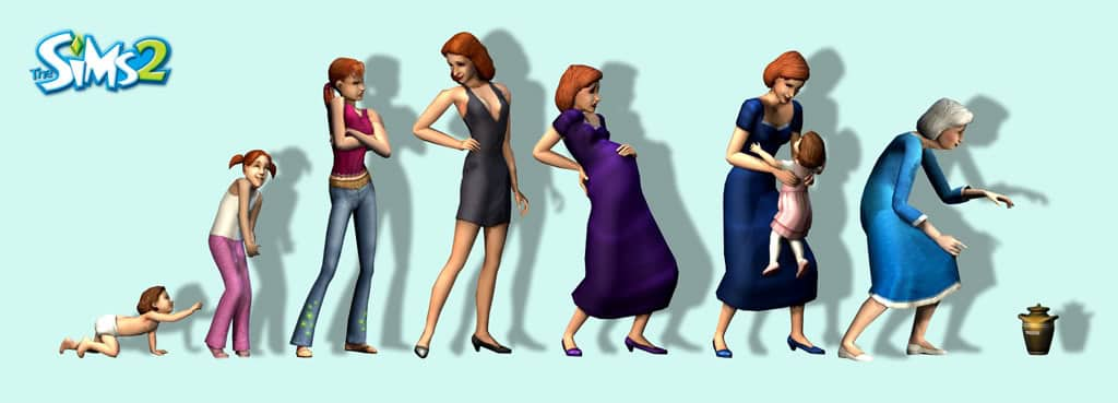 sims 4 age up cheat sims 2 life stages image