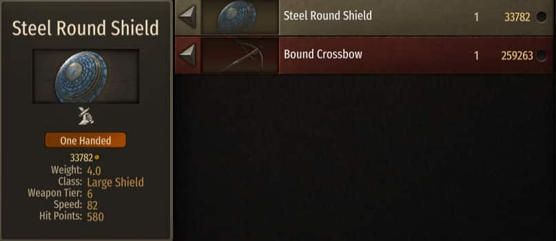 best shield bannerlord