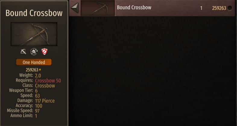 best crossbow bannerlord