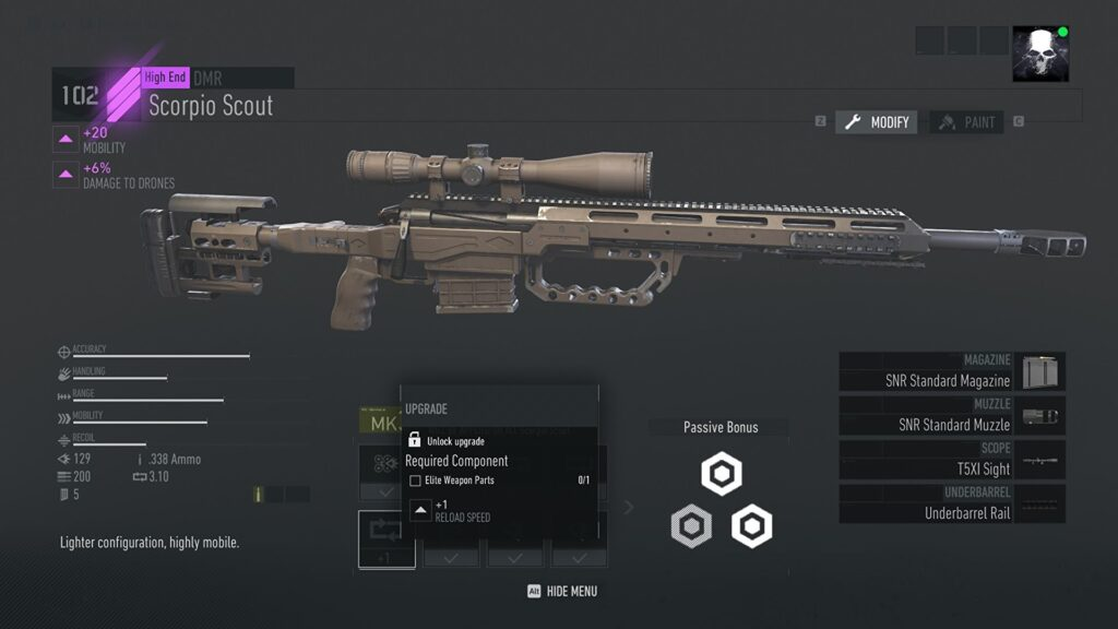 Ghost Recon- Breakpoint Elite Weapon Parts