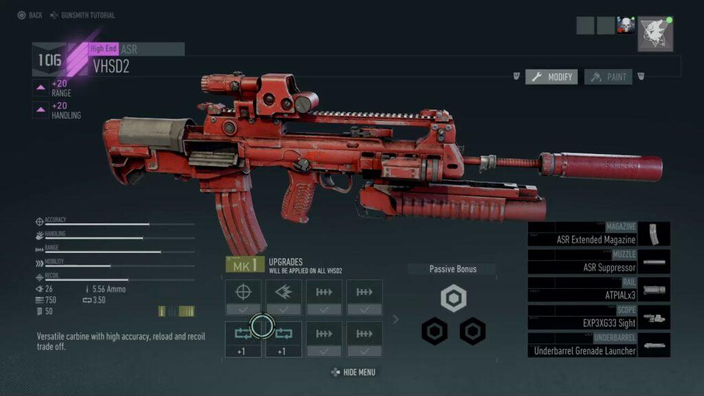 farming standard weapon parts
