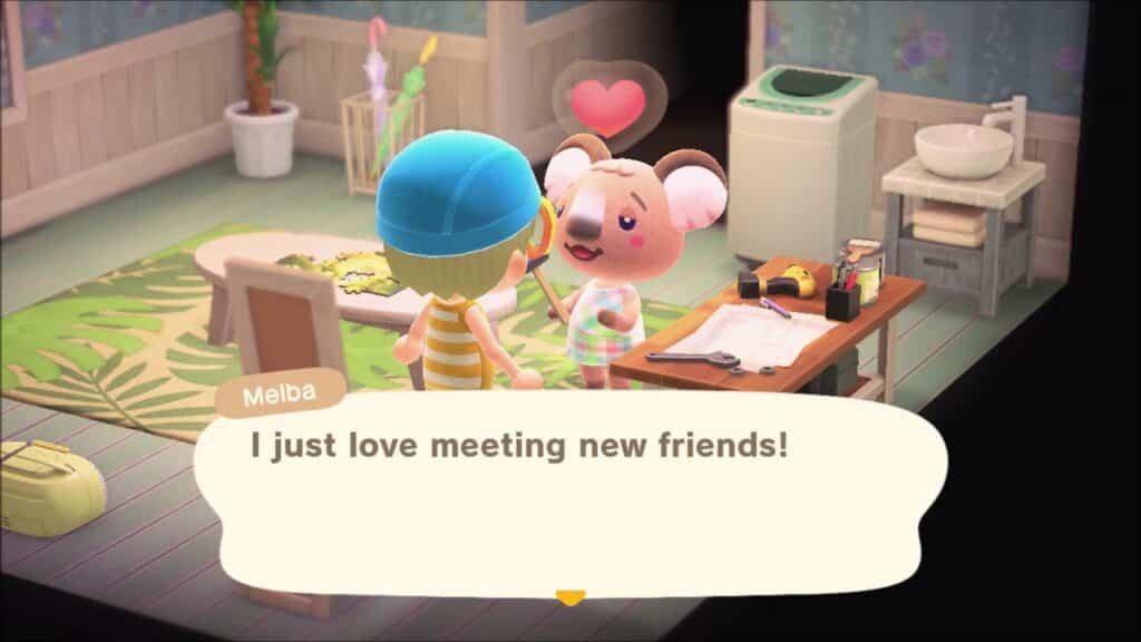 Animal Crossing New Horizons Melba Villager Guide