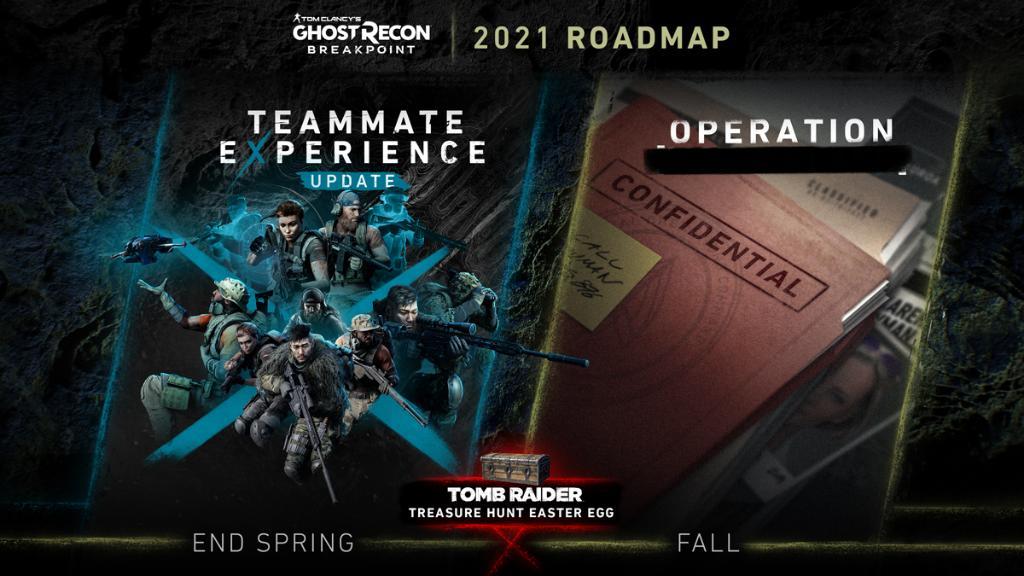 Ghost Recon- Breakpoint Roadmap 2021