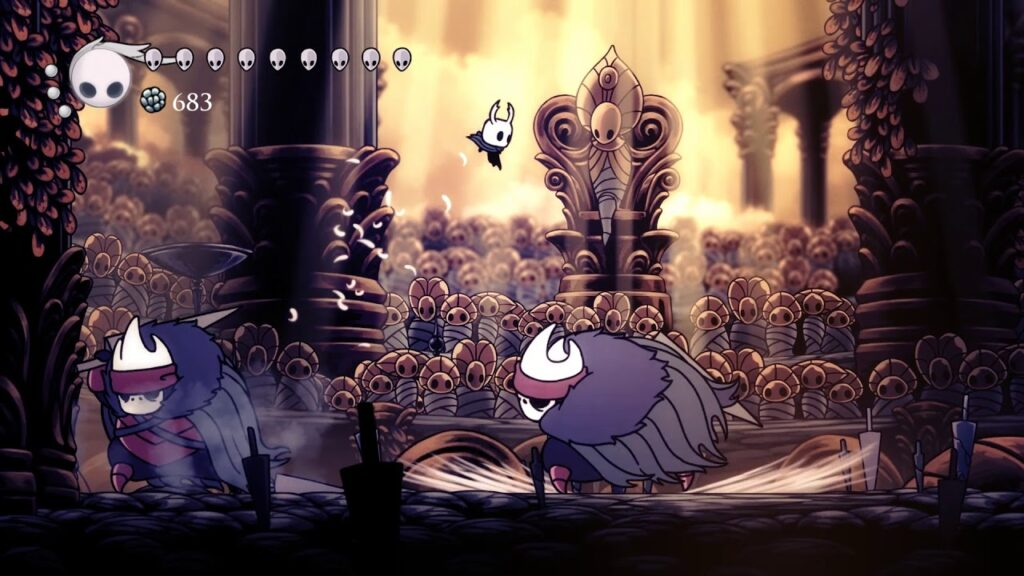 Hollow Knight Brothers Oro and Mato