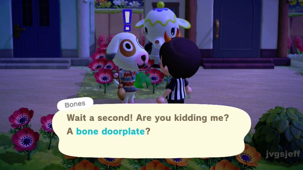 Animal Crossing- New Horizons Bones Villager Guide