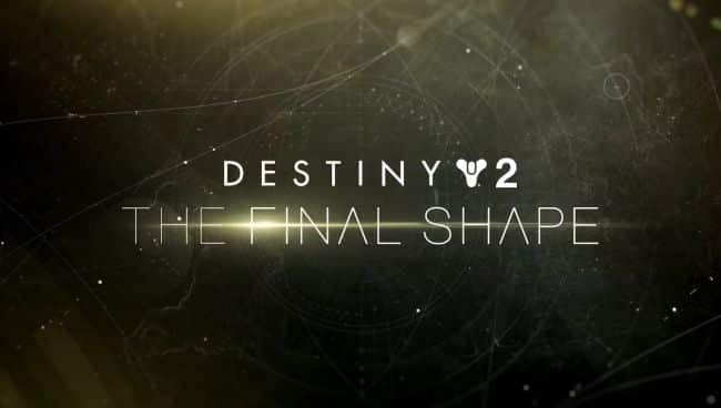 What Could Destiny 2 The Final Shape be?