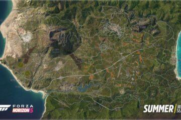 forza horizon 5 map